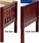 Maxtrix Full over Full Bunk Bed   Maxtrix Furniture   MX-FITFAT