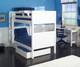 Maxtrix GETIT Medium Bunk Bed Twin Size Natural | Maxtrix Furniture | MX-GETIT-NX