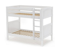 Maxtrix GETIT Medium Bunk Bed Twin Size White | Maxtrix Furniture | MX-GETIT-WX
