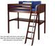 Maxtrix GIANT High Loft Bed Full Size Chestnut | Maxtrix Furniture | MX-GIANT-CX