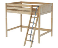 Maxtrix GIANT High Loft Bed Full Size Natural | Maxtrix Furniture | MX-GIANT-NX