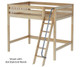 Maxtrix GIANT High Loft Bed Full Size Natural | 26302 | MX-GIANT-NX