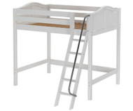 Maxtrix GIANT High Loft Bed Full Size White | Maxtrix Furniture | MX-GIANT-WX