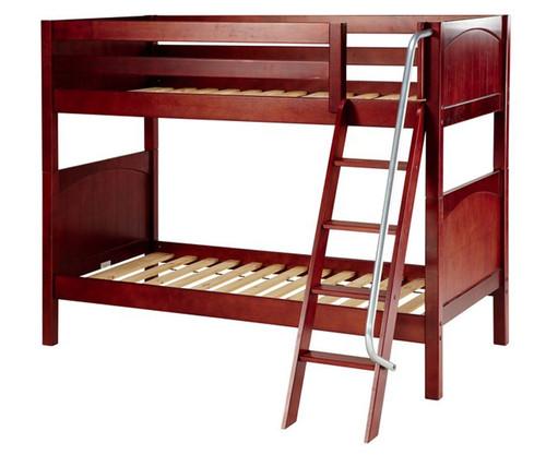 Maxtrix GOTIT Medium Bunk Bed Twin Size Chestnut | Maxtrix Furniture | MX-GOTIT-CX