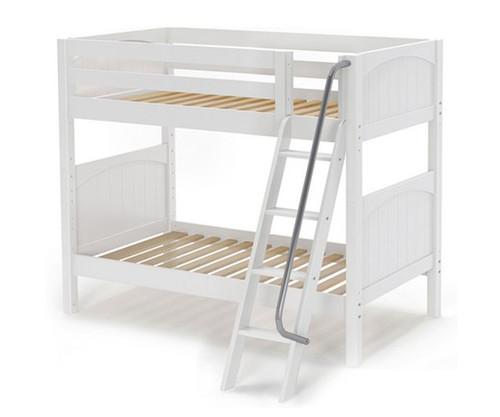 Maxtrix GOTIT Medium Bunk Bed Twin Size White | Maxtrix Furniture | MX-GOTIT-WX