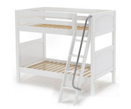 Maxtrix GOTIT Medium Bunk Bed Twin Size White | Maxtrix Furniture | MX-GOTIT-WX