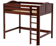 Maxtrix GRAND High Loft Bed Full Size Chestnut | Maxtrix Furniture | MX-GRAND-CX