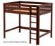 Maxtrix GRAND High Loft Bed Full Size Chestnut | 26318 | MX-GRAND-CX