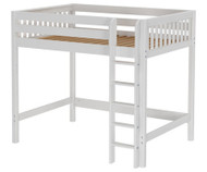 Maxtrix GRAND High Loft Bed Full Size White | Maxtrix Furniture | MX-GRAND-WX