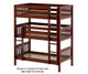 Maxtrix HOLY Triple Bunk Bed Twin Size Chestnut | Maxtrix Furniture | MX-HOLY-CX
