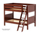 Maxtrix HOTHOT Low Bunk Bed Twin Size Natural | Maxtrix Furniture | MX-HOTHOT-NX