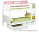 Maxtrix Low Bunk Bed with Curtains | Maxtrix Furniture | MX-HOTSHOT-CT