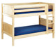 Maxtrix HOTSHOT Low Bunk Bed Twin Size Natural | Maxtrix Furniture | MX-HOTSHOT-NX