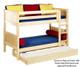 Maxtrix HOTSHOT Low Bunk Bed Twin Size Natural | 26371 | MX-HOTSHOT-NX