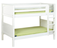 Maxtrix HOTSHOT Low Bunk Bed Twin Size White | Maxtrix Furniture | MX-HOTSHOT-WX