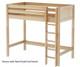 Maxtrix JIBJAB High Loft Bed Twin Size Natural | 26376 | MX-JIBJAB-NX