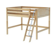 Maxtrix KONG Mid Loft Bed Full Size Natural | Maxtrix Furniture | MX-KONG-NX