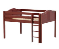 Maxtrix LARGE Low Loft Bed Full Size Chestnut | Maxtrix Furniture | MX-LARGE-CX