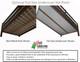 Maxtrix MANSION Low Loft Bed with Curtains Full Size Chestnut 3 | Maxtrix Furniture | MX-MANSION24-CX