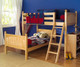 Maxtrix MASH L-Shaped Bunk Bed Twin Size Natural | Maxtrix Furniture | MX-MASH-NX