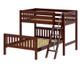 Maxtrix MAX Bunk Bed Twin over Full Size Chestnut | Maxtrix Furniture | MX-MAX-CX