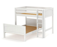 Maxtrix MIX Bunk Bed Twin over Full Size White | Maxtrix Furniture | MX-MIX-WX