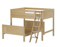 Maxtrix SQUASH L-Shaped Bunk Bed Full Size Natural | Maxtrix Furniture | MX-SQUASH-NX