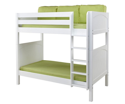 Maxtrix TALL High Bunk Bed Twin Size White | Maxtrix Furniture | MX-TALL-WX