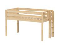 Maxtrix TIGHT Low Loft Bed Twin Size Natural | Maxtrix Furniture | MX-TIGHT-NX