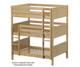 Maxtrix TRIPLEX Triple Bunk Bed Full Size Natural | Maxtrix Furniture | MX-TRIPLEX-NX