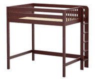 Maxtrix BULKY Ultra-High Loft Bed Full Size Chestnut | Maxtrix Furniture | MX-ULTRABULKY-CX