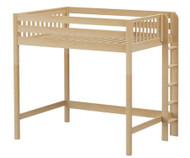 Maxtrix BULKY Ultra-High Loft Bed Full Size Natural | Maxtrix Furniture | MX-ULTRABULKY-NX