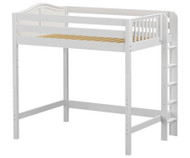Maxtrix BULKY Ultra-High Loft Bed Full Size White | Maxtrix Furniture | MX-ULTRABULKY-WX