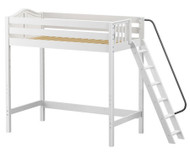 Maxtrix DUNK Ultra-High Loft Bed Twin Size White | Maxtrix Furniture | MX-ULTRADUNK-WX