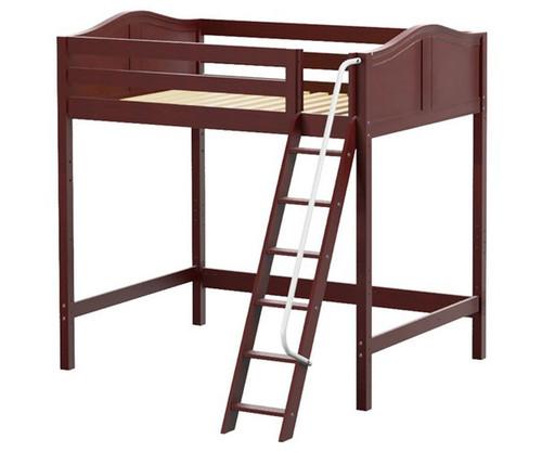 Maxtrix GIANT Ultra-High Loft Bed Full Size Chestnut   Maxtrix Furniture   MX-ULTRAGIANT-CX
