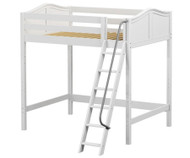Maxtrix GIANT Ultra-High Loft Bed Full Size White | Maxtrix Furniture | MX-ULTRAGIANT-WX