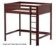 Maxtrix GRAND Ultra-High Loft Bed Full Size Chestnut | Maxtrix Furniture | MX-ULTRAGRAND-CX