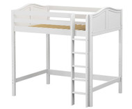 Maxtrix GRAND Ultra-High Loft Bed Full Size White | Maxtrix Furniture | MX-ULTRAGRAND-WX