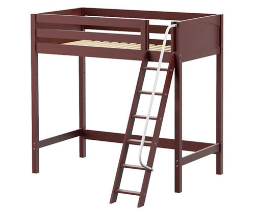 Maxtrix KNOCKOUT Ultra-High Loft Bed Twin Size Chestnut | Maxtrix Furniture | MX-ULTRAKNOCKOUT-CX