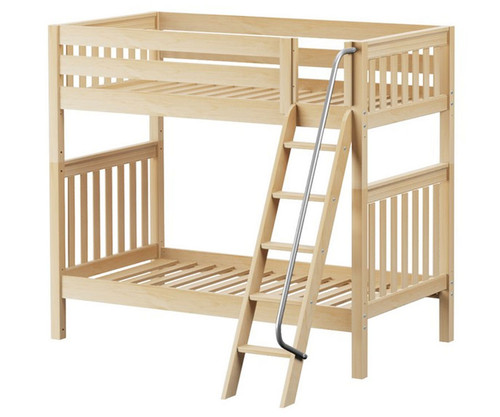 Maxtrix VENTI High Bunk Bed Twin Size Natural | Maxtrix Furniture | MX-VENTI-NX