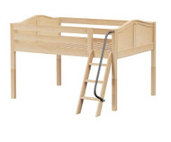 Maxtrix XL Low Loft Bed Full Size Natural | Maxtrix Furniture | MX-XL-NX