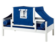 Maxtrix YO Day Bed with Top Tent Twin Size White 1 | Maxtrix Furniture | MX-YO22-W