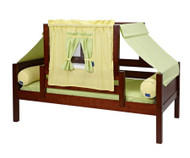 Maxtrix YO Day Bed with Top Tent Twin Size Chestnut 3 | Maxtrix Furniture | MX-YO24-C