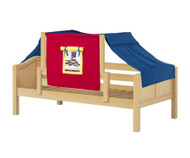 Maxtrix YO Day Bed with Top Tent Twin Size Natural 6 | Maxtrix Furniture | MX-YO29-N