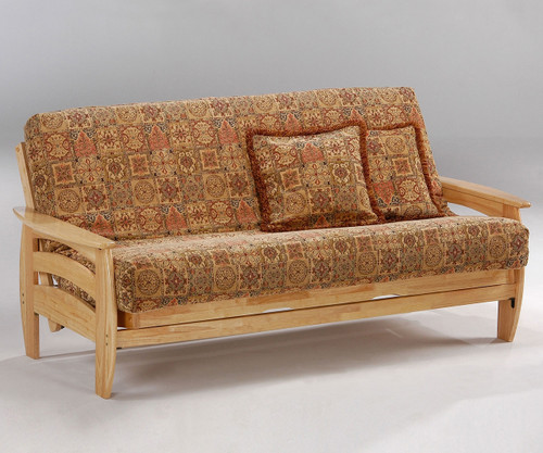 Corona Futon Sofa Natural   Night and Day Furniture   ND-Corona-N