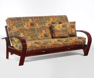 Montreal Futon Sofa Rosewood | Night and Day Furniture | ND-Montreal-RW