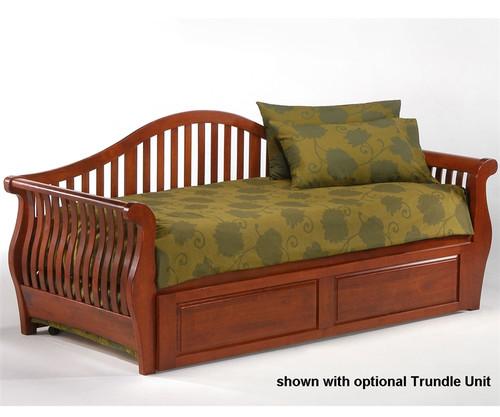 Nightfall Day Bed Cherry   Night and Day Furniture   ND-NFDB-CH