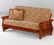 Nightfall Futon Sofa Cherry   Night and Day Furniture   ND-Nightfall-Ch