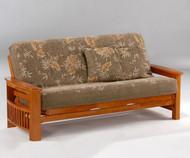 Portofino Futon Sofa Honey Oak | Night and Day Furniture | ND-Portofino-HO