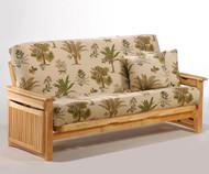Raindrop Futon Sofa Natural   Night and Day Furniture   ND-Raindrop-NA